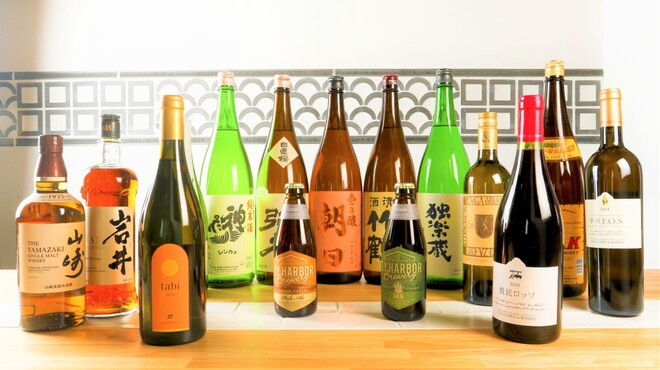 肉焼 火鍋 酒場 けいじ - ドリンク写真:こだわりの国産酒を!