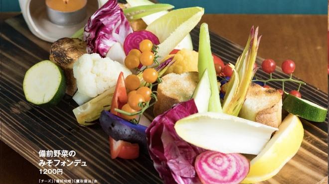備前㋳菜とチロリ - メイン写真: