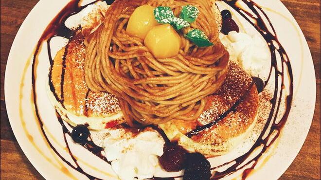 coco cafe - 料理写真:新登場!モンブランスフレ♪