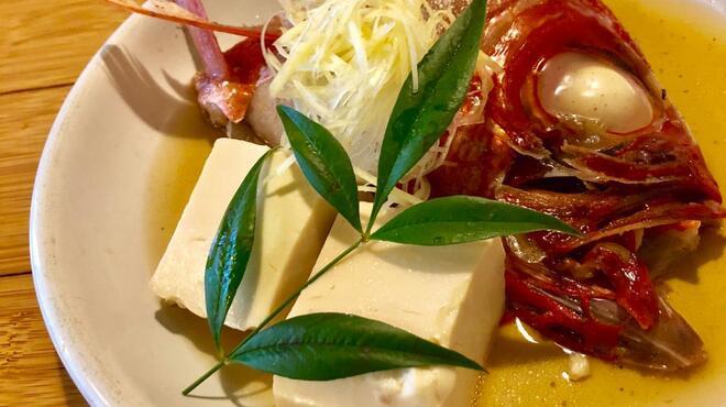 一瞬 - 料理写真:美味しい居酒屋ならではの、金目鯛の煮つけ