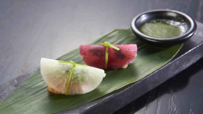 ニンジャ アカサカ - 料理写真:寿司風前菜