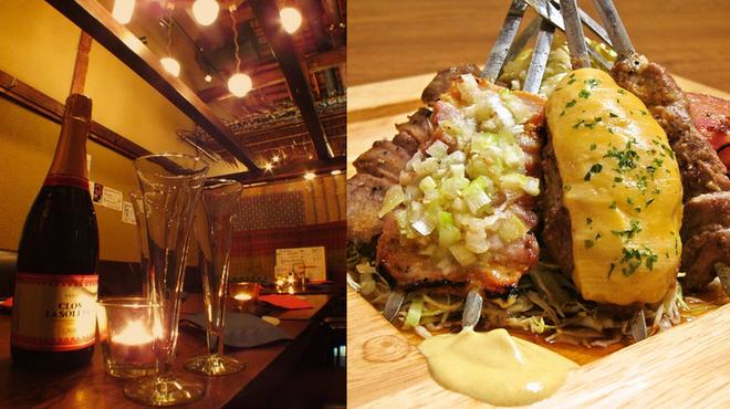 肉×ラクレットチーズ ポークチョップス - メイン写真: