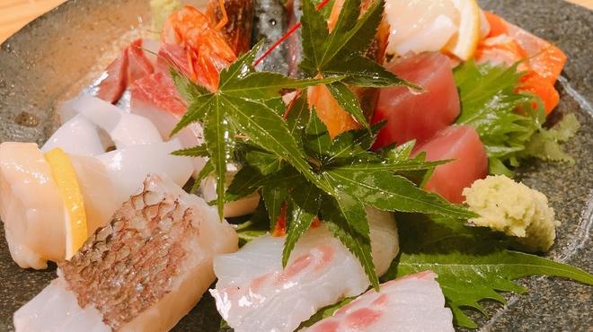 ちょっぺん - 料理写真:刺身盛り合わせ