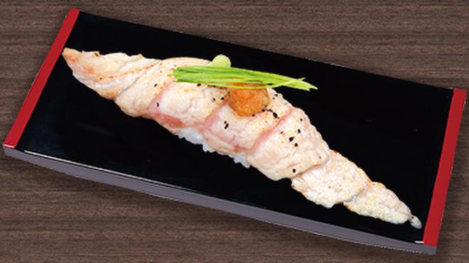 すしざんまい - 料理写真:あぶりとろ 1個398円(税別)