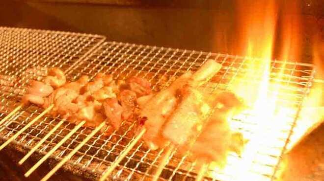 薄利多賣半兵ヱ - 料理写真:本格炭火焼き。