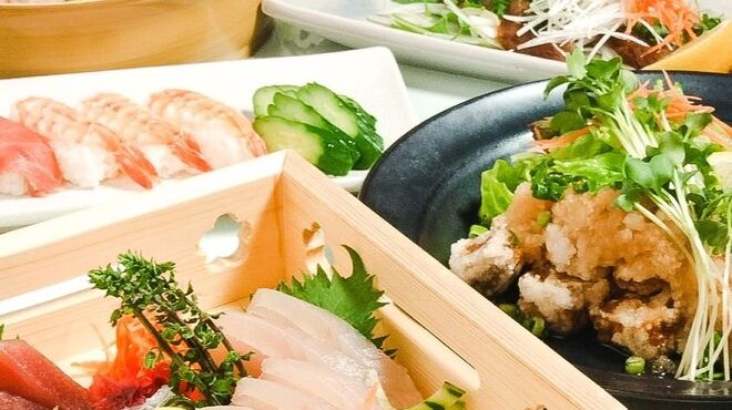 尼崎個室居酒屋 宴海の幸 活き意気 - 料理写真: