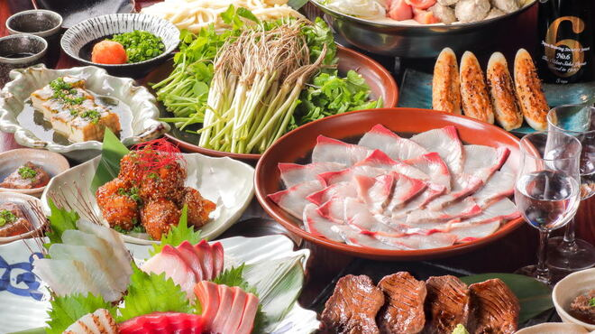 個室 せり鍋 広瀬の蔵 - 料理写真: