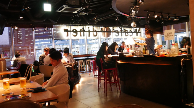 「N cafe diner & MUSIC PUB 東京都港区港南1-9-32」の画像検索結果
