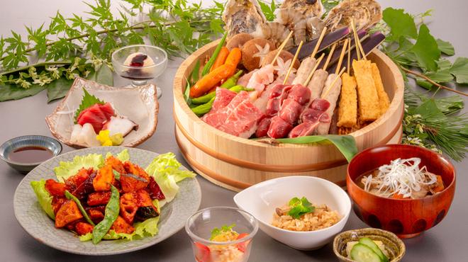 福西本店 炭蔵 - 料理写真:旬の素材を生かした会津の旨みたっぷり