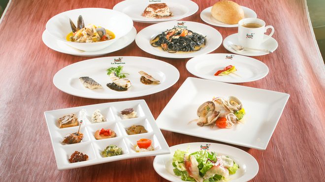 小倉 匠のパスタ ラ・パペリーナ - 料理写真:メイン料理が魚料理
