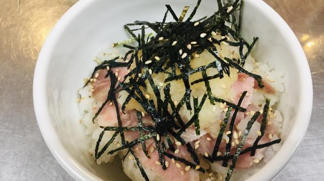 はぐれ雲 - 料理写真:おろしチャーシュー丼