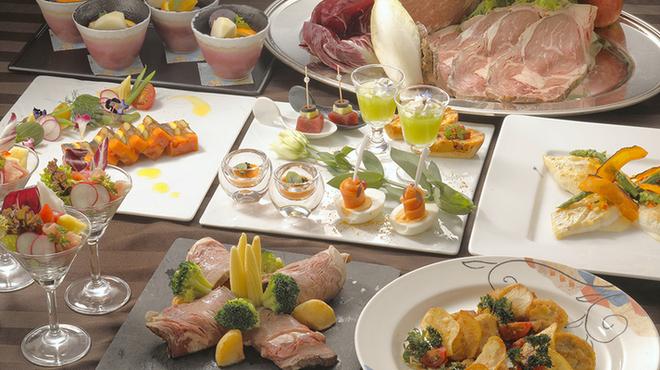 カフェ・イン・ザ・パーク - 料理写真:忘年会プランのお料理イメージ