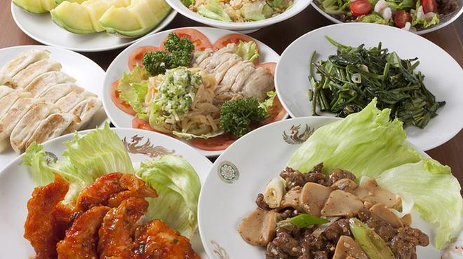 昌平ラーメン - 料理写真:3980円飲み放題付き3hコース