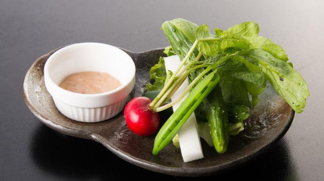 千寿惠 - 料理写真:畑のとれたて秋野菜