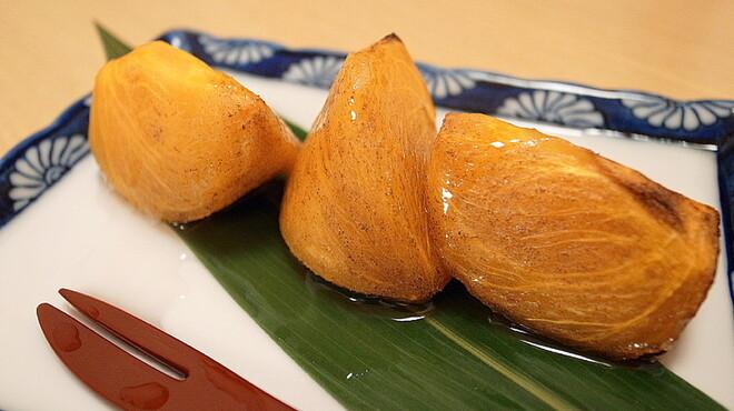 宮戸川 - 料理写真:季節限定『焼き柿』 350円