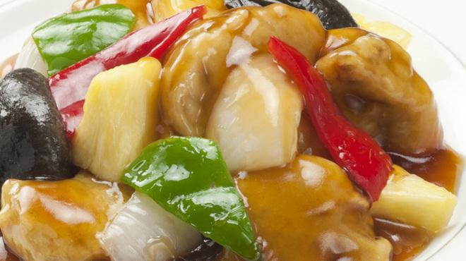 中国料理 新北京 - 料理写真:酢豚