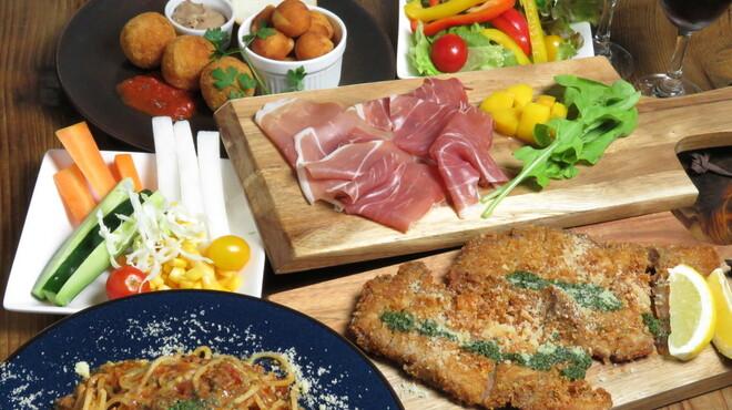Tazza - 料理写真:宴会コース
