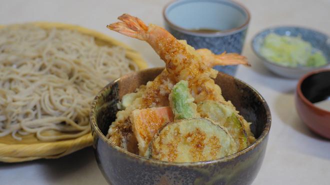 紗羅餐 - 料理写真:天丼と二八蕎麦