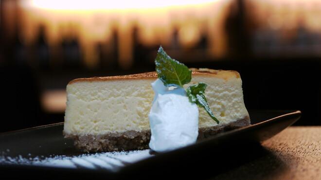 ガーデン - 料理写真:後藤美和子のチーズケーキ