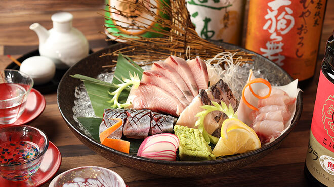 炭火居酒屋 山崎 金沢直送鮮魚&石川の地酒 - メイン写真: