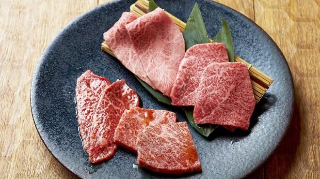 まんぷく - 料理写真:特選和牛盛り合わせ