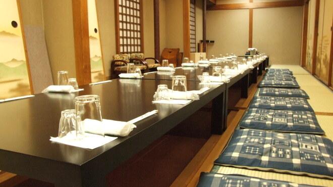居酒屋 一ノ蔵 - 内観写真:堀こたつ個室   20~35名様のご宴会で!2F貸切で60名様までOK!
