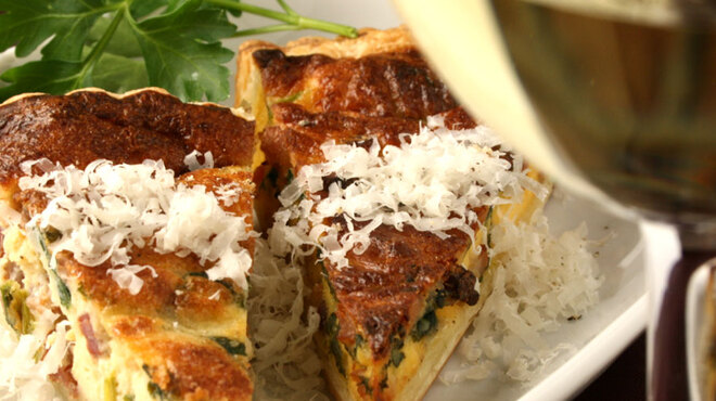 カスコロッソ - 料理写真:本日のキッシュ