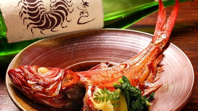 よなよな - 料理写真:金目鯛の煮付け