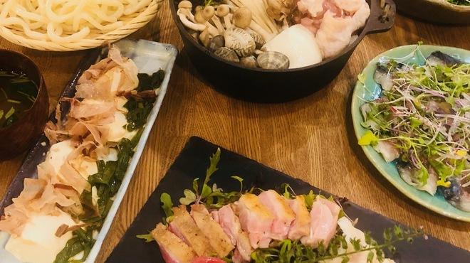 のぉてぃ 和飲 - 料理写真:お鍋のコース