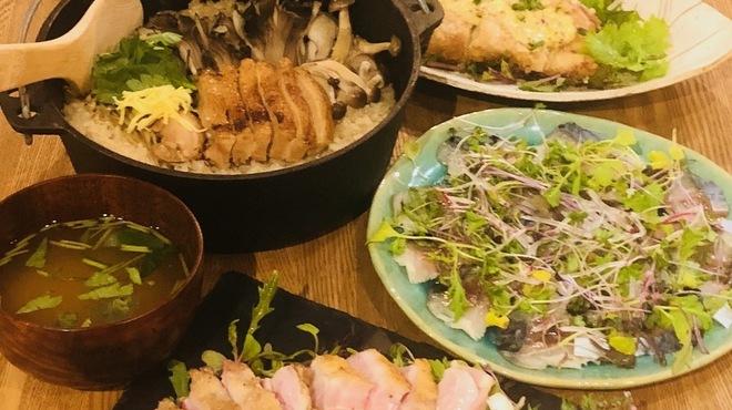 のぉてぃ 和飲 - 料理写真:王道コース