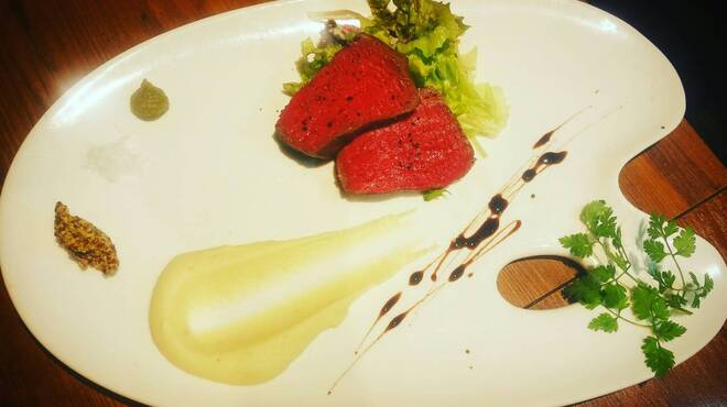 CONA - 料理写真:和牛イチボステーキ