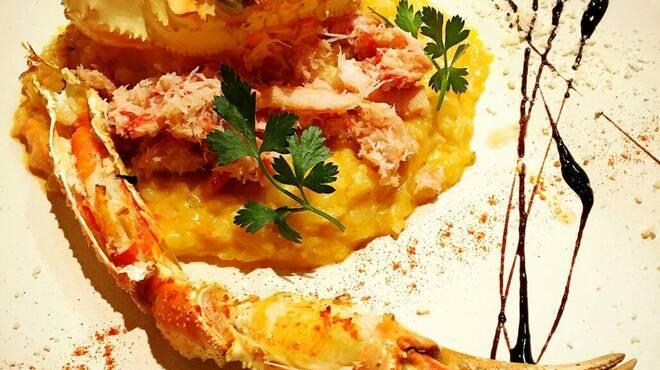 CONA - 料理写真:ズワイガニのトマトクリームリゾット
