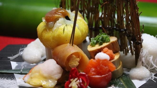 笑彩酒房 まっちゃん - 料理写真:コース料理の前菜(例)