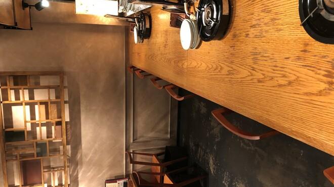 韓国鶏鍋 GOCHU - 内観写真:カウンター席