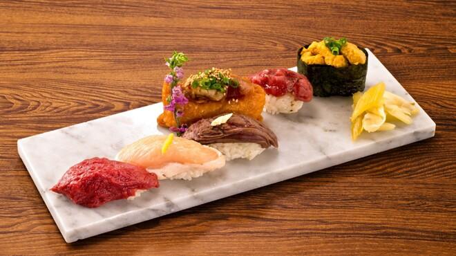 渋谷肉横丁 肉寿司 - メイン写真: