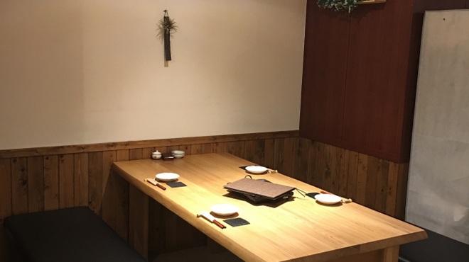 水炊き とよみつ  - 内観写真: