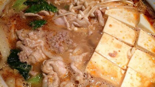 皆月 - 料理写真:坦々ごま味噌鍋
