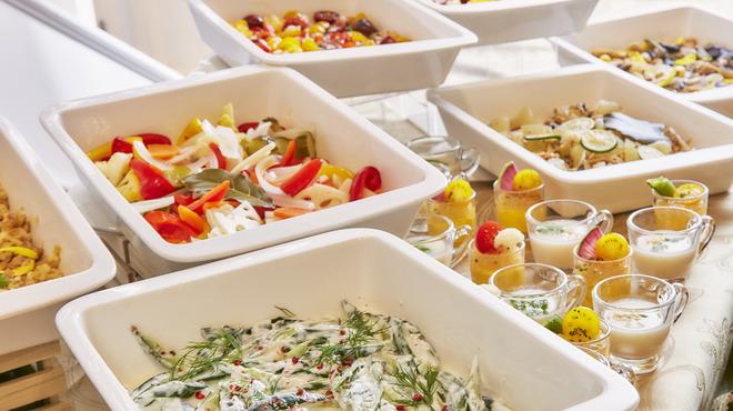 Res arcana Premier  - 料理写真:三浦野菜をつかった前菜