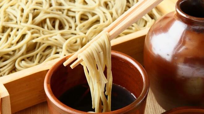 江戸蕎麦 僖蕎 - 料理写真:のどごしも自慢の自家製二八蕎麦