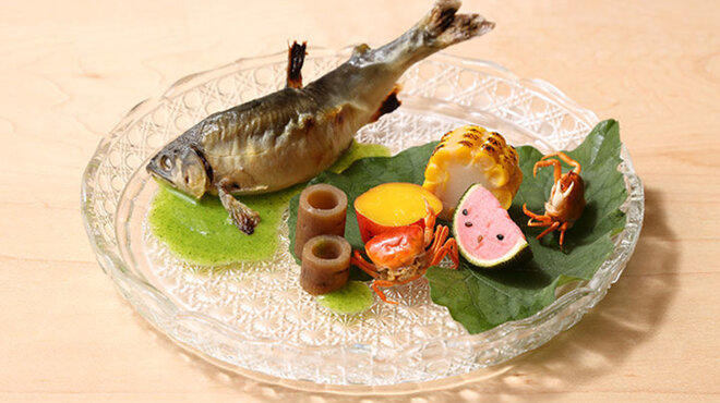 懐石 山よし - 料理写真: