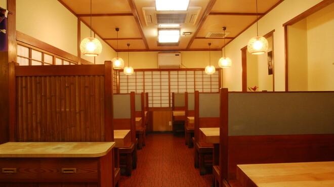 割烹よし田 - 内観写真:ランチ時には大人気の鯛茶漬け(1,000円/税別)がおすすめ!