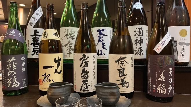 月tokkury - ドリンク写真:美味い日本酒取り揃えてます( ﹡・ᴗ・ )b