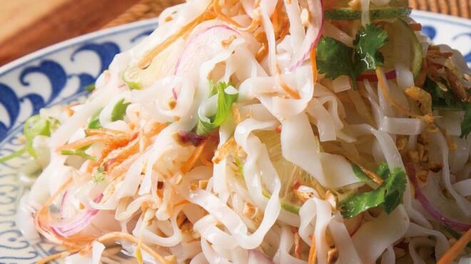 自然食バイキング はーべすと - 料理写真:フォーのアジアンサラダ