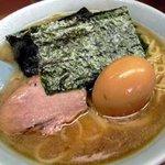 なかむら屋 - 料理写真:ラーメン550円+味付け玉子50円