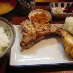 魚玉 - ぶりかま定食