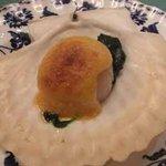 懐石フランス料理 グルマン橘 - 北海道産帆立貝のグラティネ