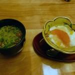 びわね - 美和音のコース茶蕎麦とデザート