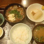 九段下まるみ - 牛スジ定食