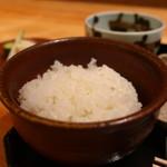 茶屋 青柳 - 御飯