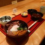 茶屋 青柳 - 松阪牛しぐれ丼